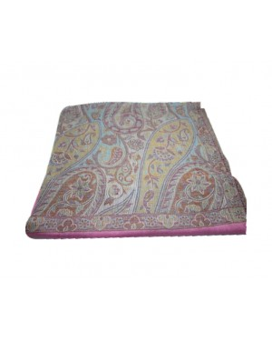 Soft Pashmina Stole with Royal Self Work