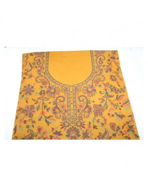 Pure Woolen Suit with Heavy Embroidery