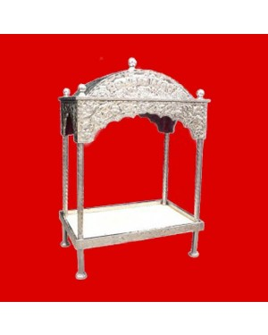 Steel Palki Sahib Circular Roof - Large Size - For Guru Granth Sahib Ji